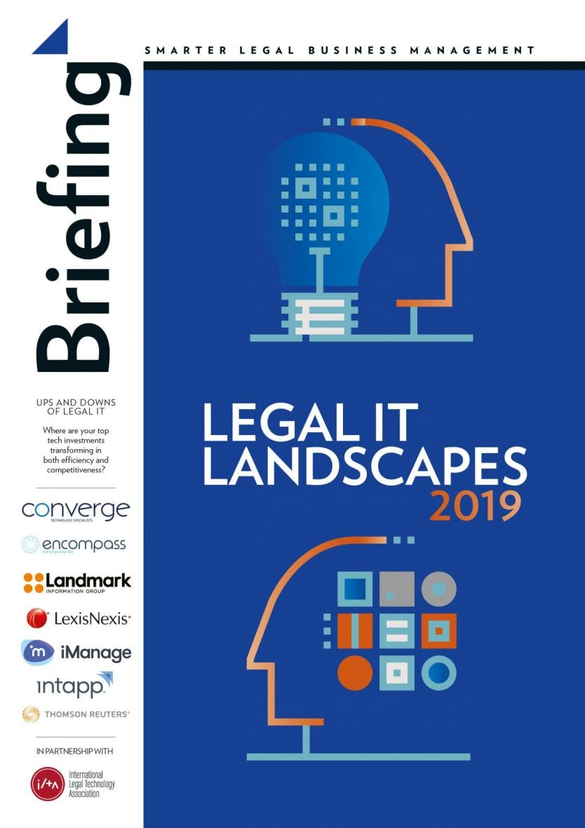 Legal IT landscapes 2019